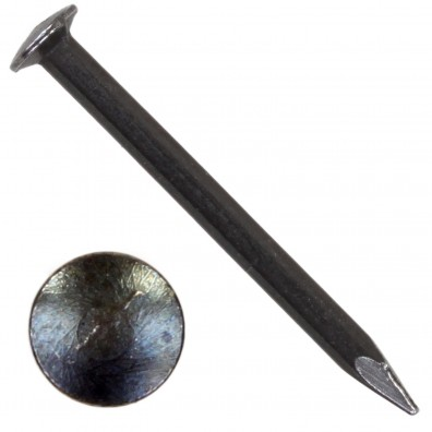 250 BÄR Drahtstifte 2x23mm, gehärtet mit Linsenkopf und geschnittener Spitze