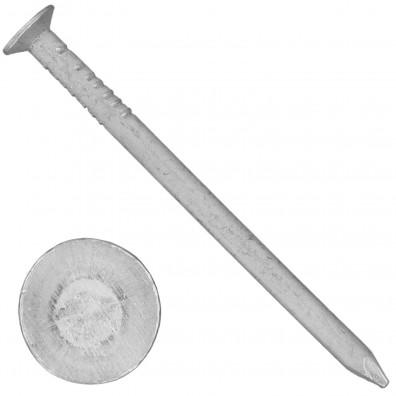 1000 Aluminiumnägel 2,8x45 mm, mit Senkkopf, glatt, gebeizt