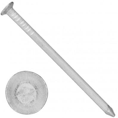 500 Aluminiumnägel 3,5x65 mm, mit Senkkopf, glatt, gebeizt