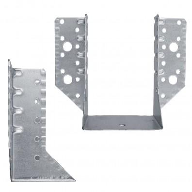 Standard-Balkenschuhe - außen - feuerverzinkt - 1,5 mm Materialstärke
