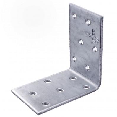 50 Lochplattenwinkel, Winkelverbinder,  sendzimirverzinkt 60x60x50x2,5 mm ETA