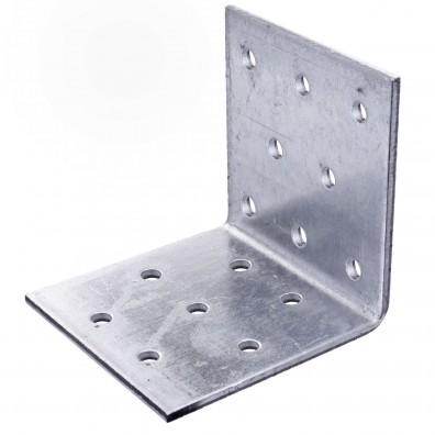 10 Lochplattenwinkel zugelassen ETA-09-0355 feuerverzinkt 60x60x60x2,5 mm