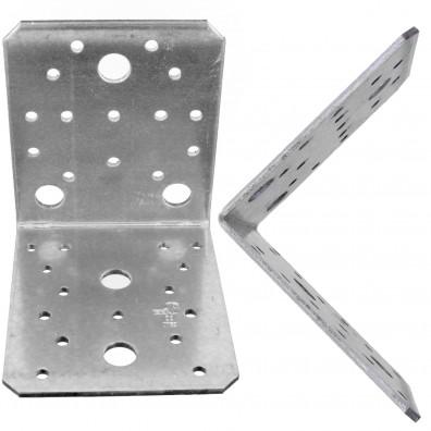 25 Schwerlast- Winkelverbinder, sendzimirverzinkt, 105x105x90x3 mm , ETA