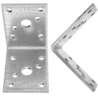 10 Standard Winkelverbinder zugelassen ETA-09-0355 60x60x45x3,0 mm ohne Steg