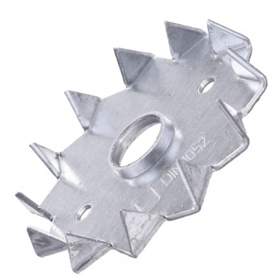 8 Einpressdübel DIN 1052 1-seitig verzinkt 62 mm Durchmesser