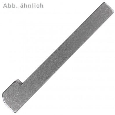 25 Nasenkeile 8 mm x 7 mm x 32 mm DIN 6887 - Stahl - C45+C