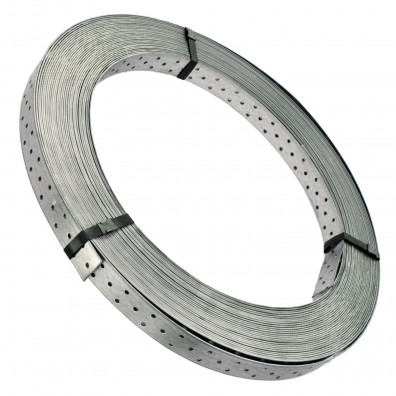 50 m Windrispenband 40 x 1,5mm - feuerverzinkt - extrem leicht