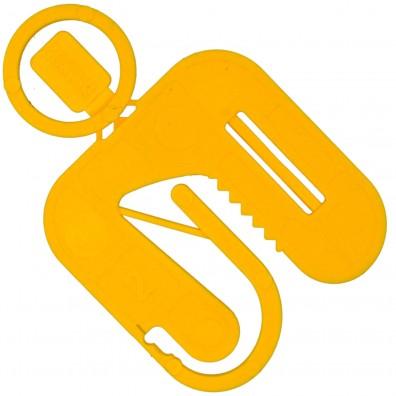 Twisto-Click Distanzplatten gelb 50x50x2