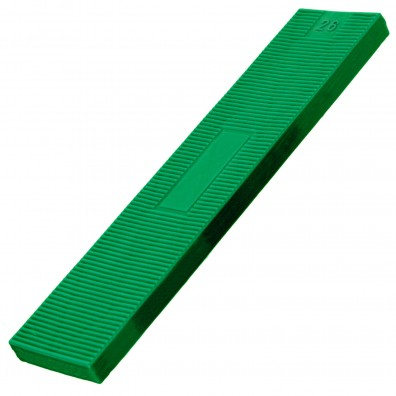 100 Verglasungsklötze SILISTO® Classic grün 100x26x5