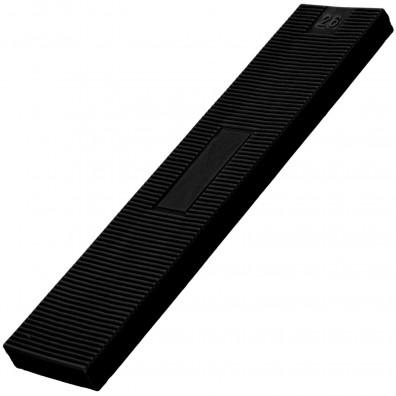 100 Verglasungsklötze SILISTO® Classic schwarz 100x26x6