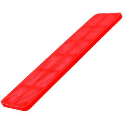 100 Verglasungsklötze rot 100x24x3