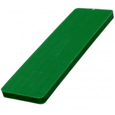 1000 Verglasungsklötze SILISTO® Classic grün 100x30x5