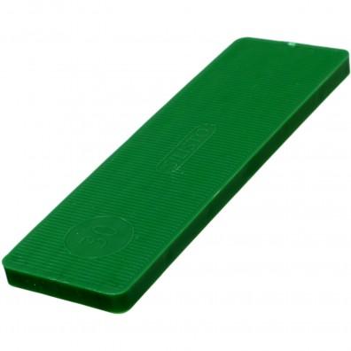 1000 Verglasungsklötze SILISTO® Classic grün 100x34x5