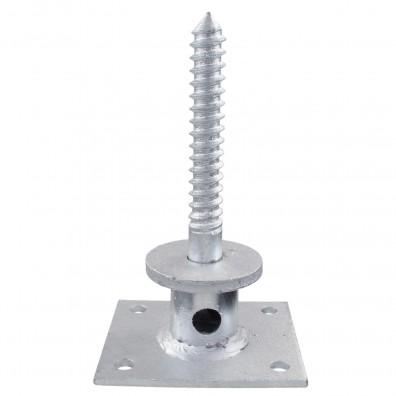 1 GAH I-Pfostenträger-Schraube feuerverzinkt aufdübelbar für >=70 mm