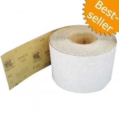 Schleifpapier Rolle - 115 mm breit - Industriequalität