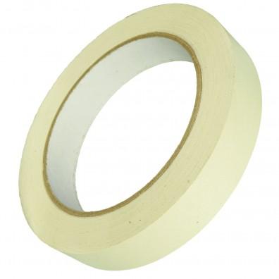 1 Rolle Gerband 136 Flachkrepp-Klebeband - Kreppband , 19 mm, 50m