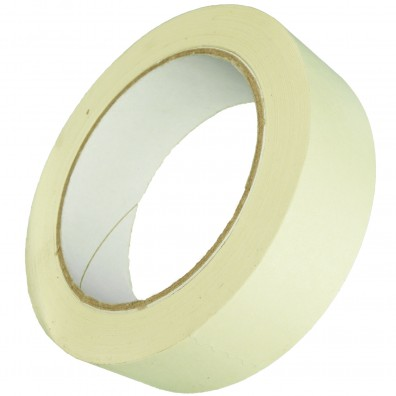 1 Rolle Gerband 136 Flachkrepp-Klebeband - Kreppband , 30 mm, 50m