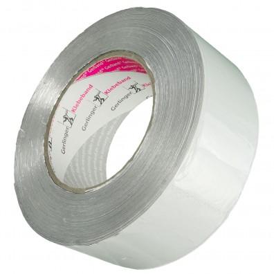 100m Rolle Aluminium-Klebeband - Reinaluminium (Gerband 705) - 50 mm breit
