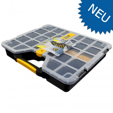 1 Allit Sortimentskasten EuroPlus Basic >S< 37 - 6 - 20 Stege - 365x295x62 mm