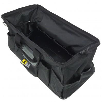 1 Allit McPlus Bag >B< 24 - Textil-Werkzeugtasche - schwarz-silber