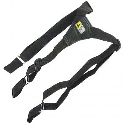 1 Allit ergonomische Gürtelsicherung - McPlus Belt Holder - schwarz-silber
