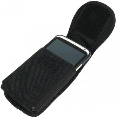 1 Allit Gürteltasche für Handy - McPlus Belt Cellular - schwarz-silber