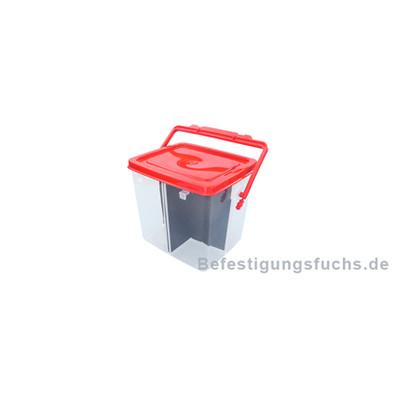 1 Eimer Kunststoff 1,40 Liter mit Gefachen