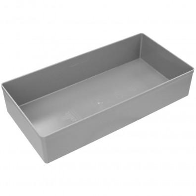 Allit Einsatzboxen - 108 x 216mm - Grau