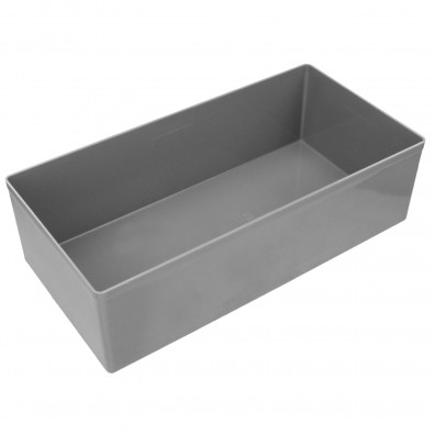 10 Boxen 108x216x63 mm für Stahlblech Sortimentskasten 330x440x66
