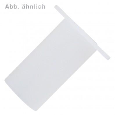 100 KORREX-Isolierhülsen für M8 Gewinde - 22 mm lang - Kunststoff - weiß