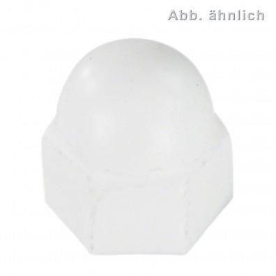 KORREX-Schutzkappen für Sechskantmuttern & Sechskantschrauben - Kunststoff - weiß