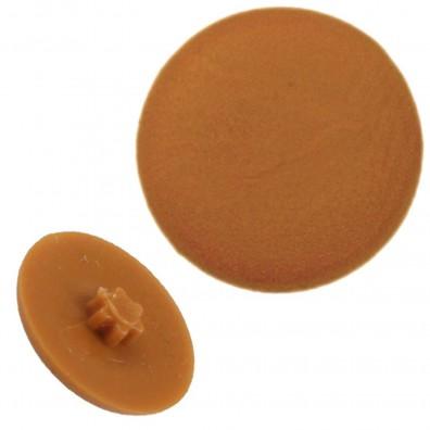 500 Kappen für Senkschrauben TX 25 Kappdend. 12 für M5 hellbraun(RAL 8001)