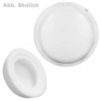 1000 Abdeckkappen für Kappenkopf - weiß(RAL9010)