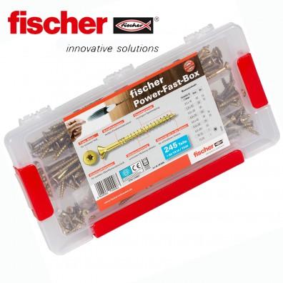 FISCHER - Sortiment Spanplattenschrauben