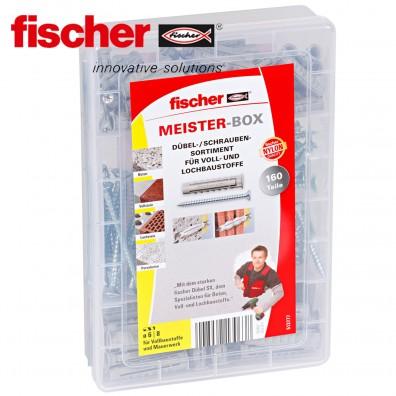 FISCHER Meister Box - Spreizdübel SX / Spanplattenschrauben