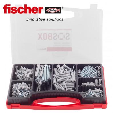 FISCHER Sortimentsbox - Universaldübel / Spreizdübel inkl. Schrauben