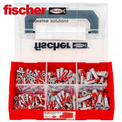 190 tlg. FISCHER DUOPOWER Nylon-Dübel-Sortiment - im FIXtainer