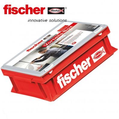 2000 tlg. FISCHER DUOPOWER Nylon-Dübel-Sortiment - in der Vorteilsbox