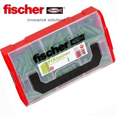 FISCHER FIXtainer - Universaldübel UX R - GREEN