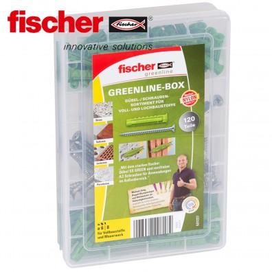 FISCHER Greenline Box - Spreizdübel / Spanplattenschrauben