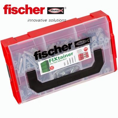FISCHER FIXtainer Box - Dübel SX, UX, GK, GKM und Spanplattenschrauben