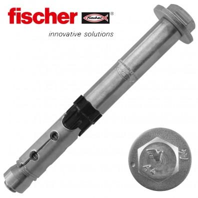 FISCHER Hochleistungsanker FH II-S - mit Sechskantkopf - Edelstahl A4