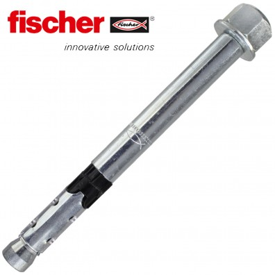 FISCHER Hochleistungsanker FH II-H - mit Hutmutter - galvanisch verzinkt