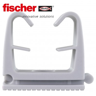 FISCHER Clipschellen FC - Nylon - grau