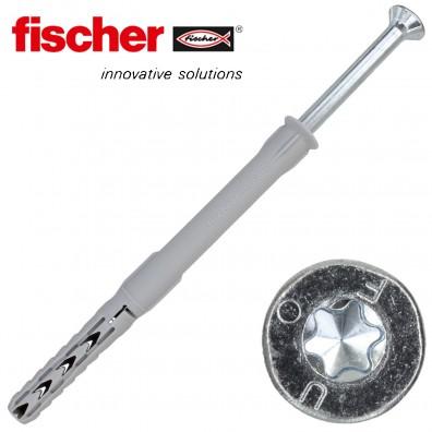 FISCHER Langschaftdübel SXR-T - mit verzinkter Schraube