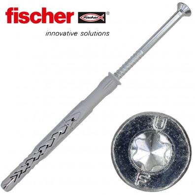 FISCHER Langschaftdübel SXRL-T - mit verzinkter Schraube