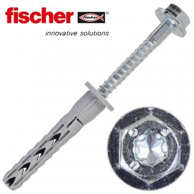 FISCHER Langschaftdübel SXR-FUS - mit verzinkter Schraube