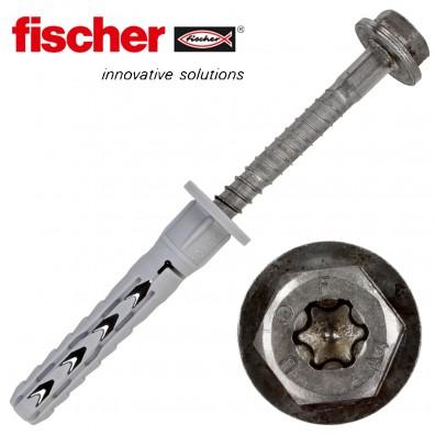 FISCHER Langschaftdübel SXR-FUS - mit A4 Schraube