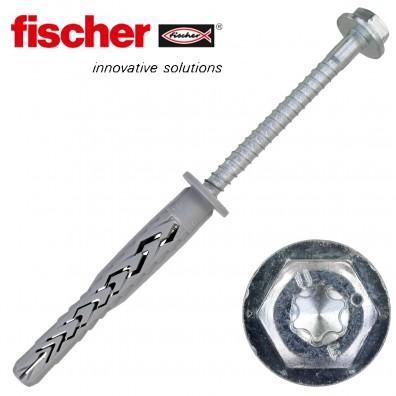 FISCHER Langschaftdübel SXRL-FUS - mit verzinkter Schraube
