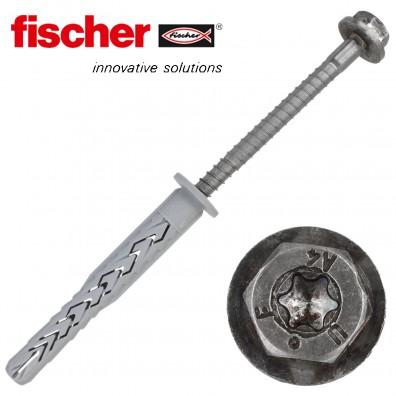 FISCHER Langschaftdübel SXRL-FUS - mit A4 Schraube